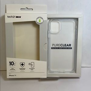 Tech21 iPhone 11 hardshell clear case